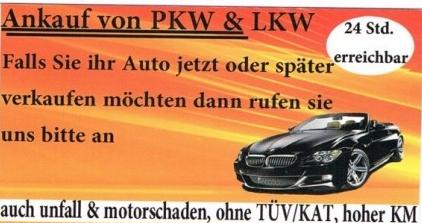 Wolle Auto verkaufe?