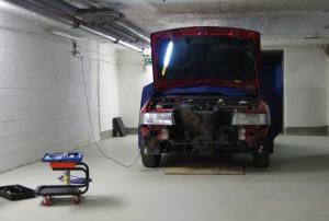 Audi 90 - Front weg