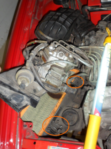 Teil 5 Luftfilterwechsel Audi90