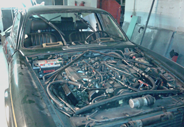 Arbeiten am Jaguar Teil 5